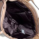 bolsa sacola de couro feminina Manacapuru