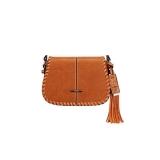 bolsa transversal de couro feminina Colinas do Tocantins