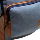 mochila casual azul