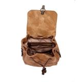 mochila masculina couro Jaru
