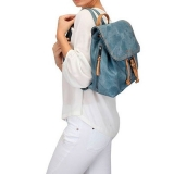 mochila masculina azul