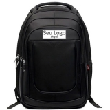 mochila personalizada logo