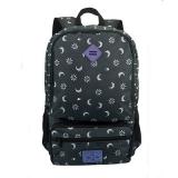 mochila preta escolar