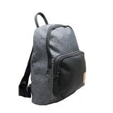 mochila preta masculina