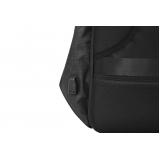 onde comprar mochila antifurto preta Vitória de Santo Antão