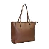 venda de bolsa sacola de couro feminina Uberaba
